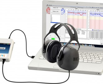 Screening audiometer (audiometry) / audiometer / digital / portable